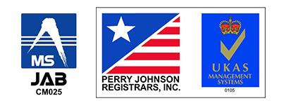 JAB CM025 PERRY JOHNSON REGISTRARS, INC.   UKAS
